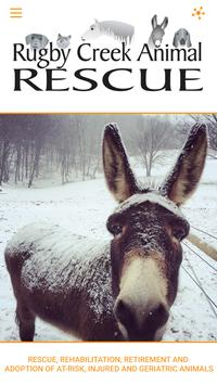Rugby Creek Animal Rescue poster