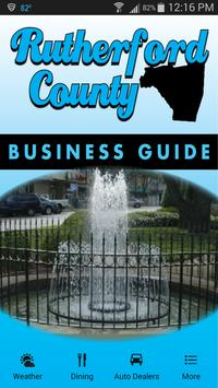 Rutherford Co. Business Guide poster