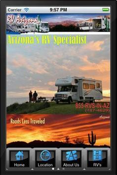 RV Arizona poster