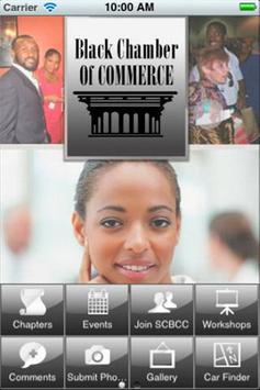 Black Chamber of Commerce poster