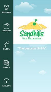 Sandhills Day Nursery poster