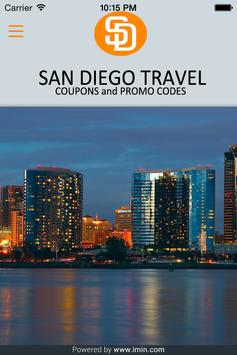 San Diego Travel Coupons-Imin poster