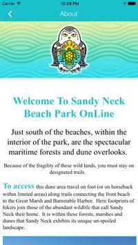 Sandy Neck Beach Park apk screenshot