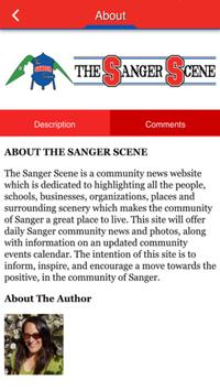 The Sanger Scene apk screenshot