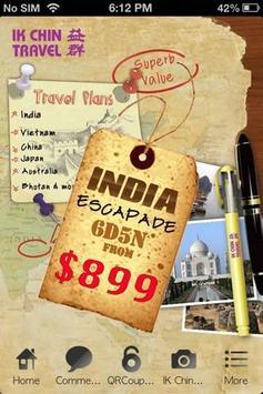 Ik Chin Travel poster