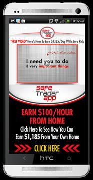 Safe Trader App poster