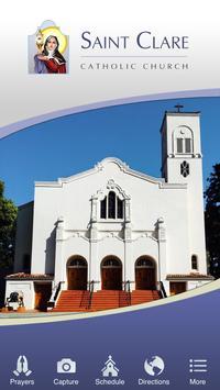 Saint Clare - Santa, Clara, CA poster