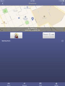 Saint Clare - Santa, Clara, CA apk screenshot