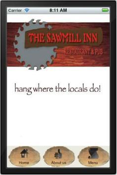 Sawmill Pub poster