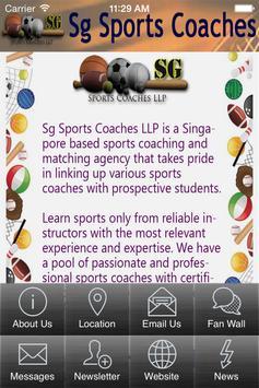 Sg Sports Coaches LLP screenshot 1