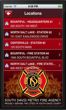 South Davis Metro Fire apk screenshot