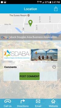 Saugatuck Douglas Map App apk screenshot