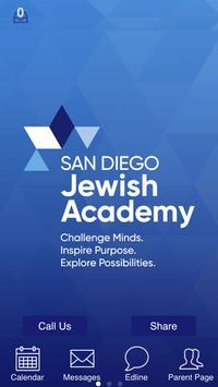 San Diego Jewish Academy poster
