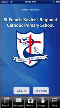 St Francis Xavier's Catholic poster