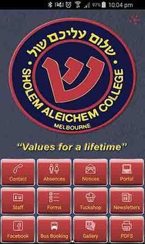 Sholem Aleichem College poster