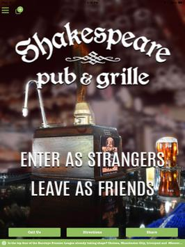 Shakespeare Pub & Grill apk screenshot