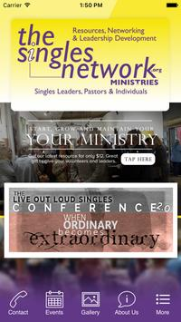 The Singles Network Ministries poster
