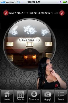 Savannah's on Hanna poster