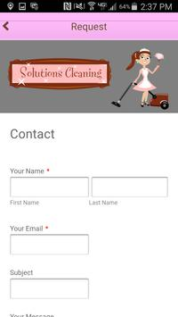 Solutions Cleaning apk screenshot