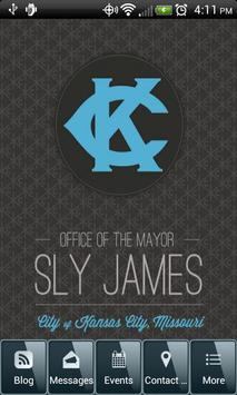 Sly James KC poster
