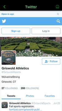 Griswold Wolverines Athletics screenshot 3