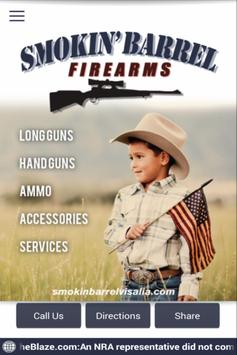 Smokin Barrel Firearms poster