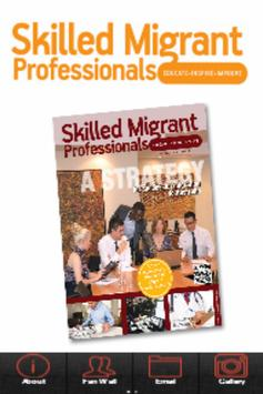 Skilled Migrant Professionals poster