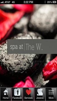 Spa at The W poster