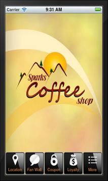 Sparks Coffee Shop poster