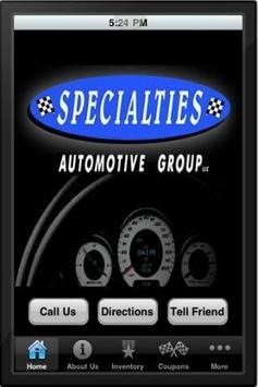 Specialties Auto poster