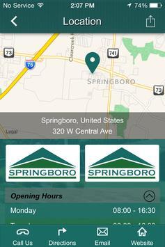 City of Springboro Ohio apk screenshot