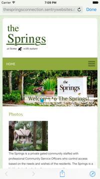 Springs Community Assn screenshot 1