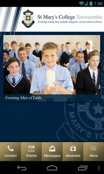 St Mary's College Toowoomba poster