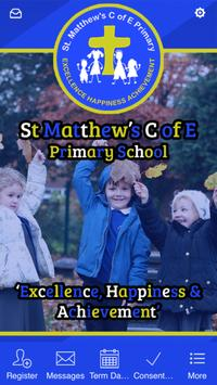 St Matthew's C of E poster