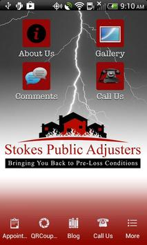 Stokes Public Adjusters poster