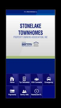 Stonelake Townhomes Property poster