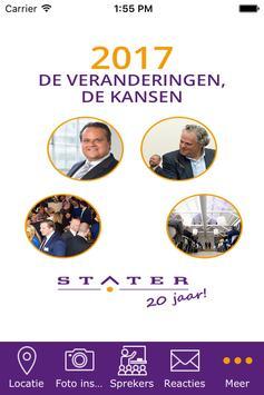 Stater N.V. poster