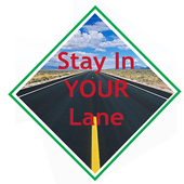 Stay In Your Lane icon