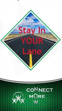 Stay In Your Lane poster