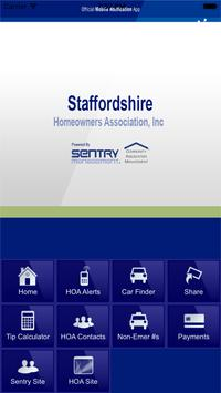 Staffordshire HOA poster