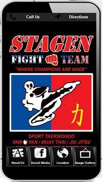Stagen Martial Arts poster