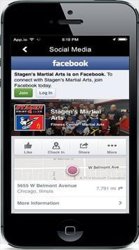 Stagen Martial Arts screenshot 1