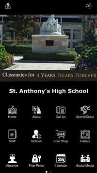 St. Anthonys High School poster