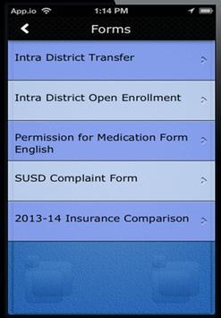 iSUSD apk screenshot