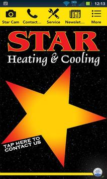 Star Heating & Cooling poster