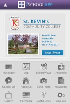 St. Kevins Community College poster