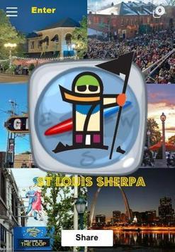 St Louis City Sherpa App poster