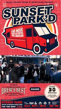 Sunset Park'd Food Truck Event poster