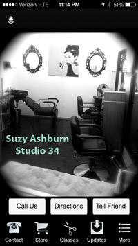 Suzy @ Studio 34 poster