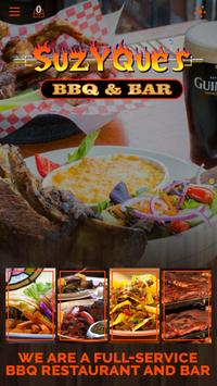SuzyQue's BBQ poster